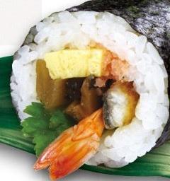 くら寿司の恵方巻2021「七福巻」
