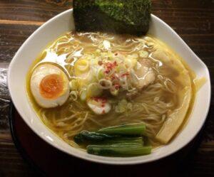 天下ご麺のラーメン(近江塩鶏麺)