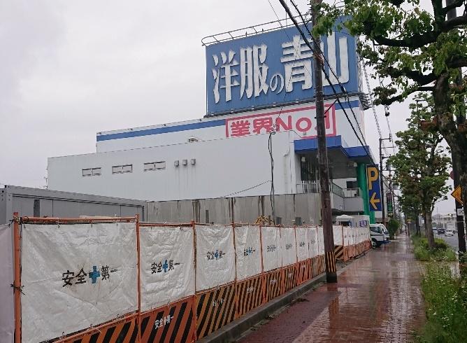 丸源ラーメン大津店2021年5月末現在建設中