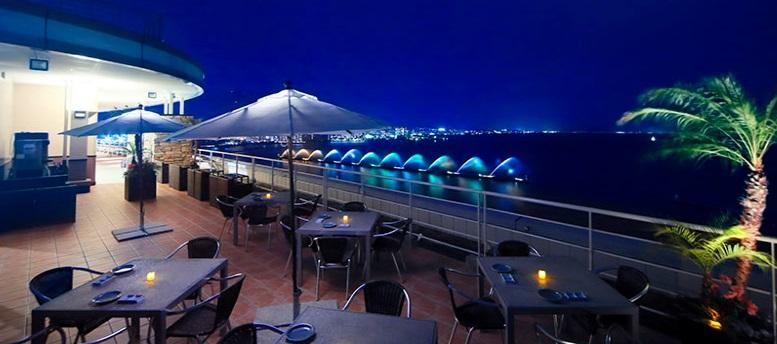 琵琶湖ホテル星のビアガーデン