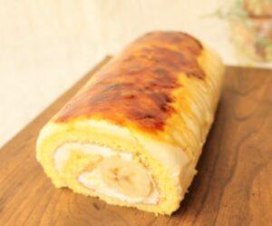 パレット「その日のバナナロールケーキ」