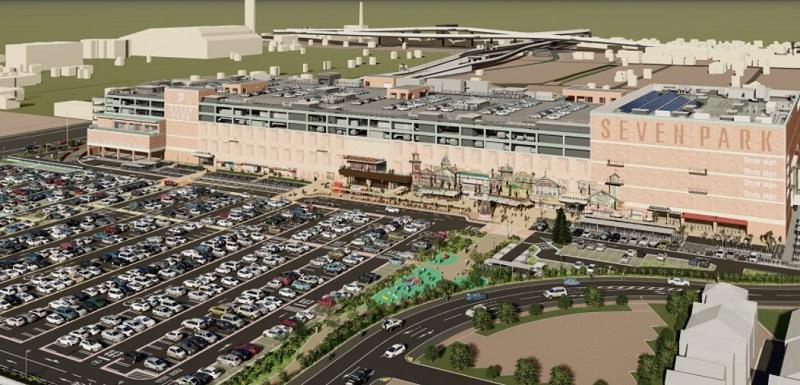セブンパーク天美「駐車場」2021年11月